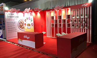 Kellogg's Stall Design & Execution for 3 days with wet sampling Ahmedabad